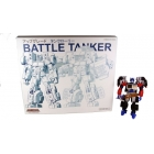 Transformers 2011 - Optimus Prime with Battle Tanker add-on - Loose - As Is