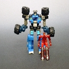 Transformers 2011 - Power Core Combiner 2-Pack - Salvage w/ Bombburst  - Loose - 100% Complete