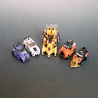 Transformers 2011 - Combiner Series 2 - Stunticons - Loose - 100% Complete