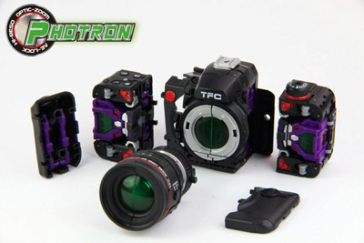 TFC Toys - Photron - Camera Set