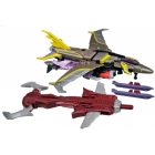 Beast Hunters - Transformers Prime - Starscream - Loose - Missing 1 missile