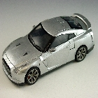 Alternity - Nissan GT-R - Convoy - Ultimate Silver Version - Loose - 100% Complete
