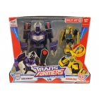 Transformers Animated - Shockwave VS Bumblebee - MISB