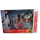 Transformers Age of Extinction - Silver Knight Optimus Prime & Grimlock 2 pack - MIB - 100% Complete