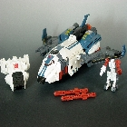 Armada - Powerlinx Jetfire with Comettor - Loose - 100% Complete