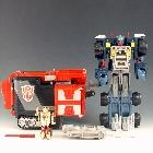 Armada - Powerlinx Optimus Prime w/ Corona Sparkplug - Loose - 100% Complete