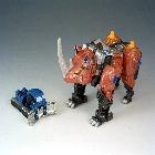 Armada  - Rhinox w/ Armorhide - Loose - 100% Complete