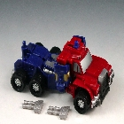 Armada - Supercon Optimus Prime - Loose - Missing mini-con