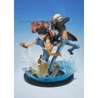 Figuarts Zero - Monkey D Luffy & Trafalgar Law -5th Anniversary Edition-