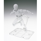 Tamashii Stage - Act. 4 for Humanoid - Clear Stand