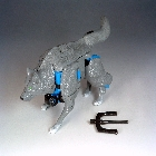 Beast Wars - Deluxe - Wolfang - Loose - Missing Missile