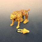 Beast Wars - Fox Kids Deluxe Cheetor - Loose - 100% Complete