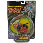Beast Wars - Fox Kids Deluxe Transmetal - Rattrap - MOSC
