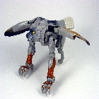 Beast Wars - Deluxe Fuzors Series - Silverbolt - Loose