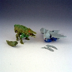 Beast Wars - Basic - Optimus Primal vs Megatron - Loose