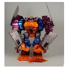 Beast Wars - Super Transmetal - Optimal Optimus - Loose - Near Complete!