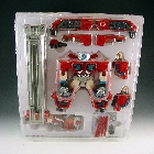 Car Robots - C-001 Fire Convoy - Display Packaging