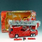Car Robots - C-001 Super Fire Convoy - MIB - 100% Complete