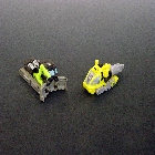 Cybertron - Mini-Con 2-pack - Scattorbrain vs Monocle - Loose - 100% Complete