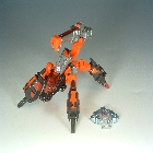 Cybertron - Scrapmetal - Red - Loose - 100% Complete