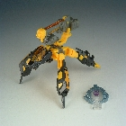 Cybertron - Scrapmetal - Yellow - Loose - 100% Complete