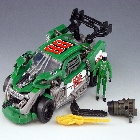 DOTM - Human Alliance - Roadbuster with Sergeant Recon - Loose - 100% Complete