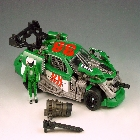 DOTM - Human Alliance - Roadbuster with Sergeant Recon - Loose - Missing Missile