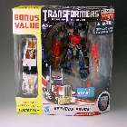 DOTM - Optimus Prime w/ Deluxe Class Comettor - Wal-Mart Exclusive