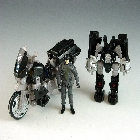 DOTM - Tailpipe & Pinpointer w/ Sergeant Noble - Loose - 100% Complete