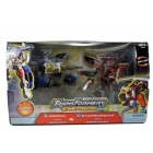Energon - Prowl with Longarm & Starscream with Zapmaster - MISB
