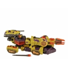 Energon - Six Shot - Loose - 100% Complete