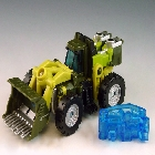 Energon - Sledge - Loose - Missing Energon Chip