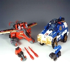 Energon  - Starscream & Prowl - Sams Club Exclusive - Loose - 100% Complete