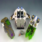 Energon - Tidal Wave with Ramjet  - Loose - Missing Missiles