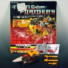 Transformers G1 - Nosecone - MOC - 100% Complete