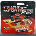 Transformers G1 - Carded - Cliffjumper - Key Chain - MOSC