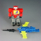Transformers G1 - Blaster w/ Flight Pack - Loose - 100% Complete