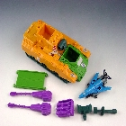 Transformers G1 - Anti-Aircraft Base Blackout & Spaceshot - Loose - 100% Complete