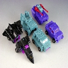 Transformers G1 - Battle Squad  - Loose - As Is