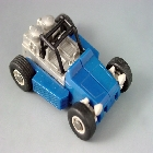 Transformers G1 - Beachcomber - Loose - Wrong back tires