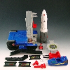 Transformers G1 - Countdown - Loose - Missing 2 double lasers
