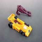 Transformers G1 - Dragstrip - Loose - Missing Gravito Gun