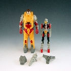 Transformers G1 - Landmine - Loose - Missing Laser Saber