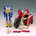 Transformers G1 - Off-Road Cycle With Axer - Loose - 100% Complete
