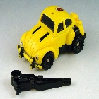 Transformers G1 - Pretender Bumblebee - Loose - As Is