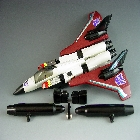 Transformers G1  - Ramjet - Loose - 100% Complete