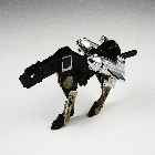Transformers G1  - Ravage - Cassette Tape - Loose - Two Right Guns