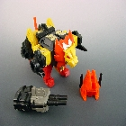 Transformers G1 - Razorclaw - Loose - Missing Sonic Sword
