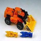Transformers G1 - Scoop - Loose - 100% Complete
