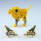 Transformers G1 - Steeljaw w/ Gold Weapons - Cassette Tape - Loose - 100% Complete
